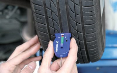 TYRE TREAD DEPTH CHECK​